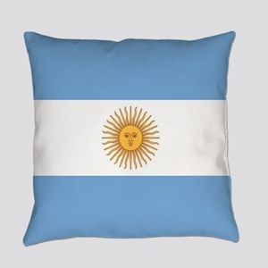 Argentinian pride argentina flag Everyday Pillow