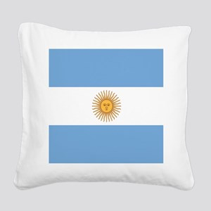Argentinian pride argentina f Square Canvas Pillow