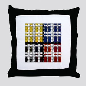 The Great Enochian Table Throw Pillow