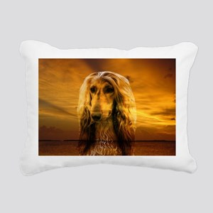 Hound Dog Rectangular Canvas Pillow