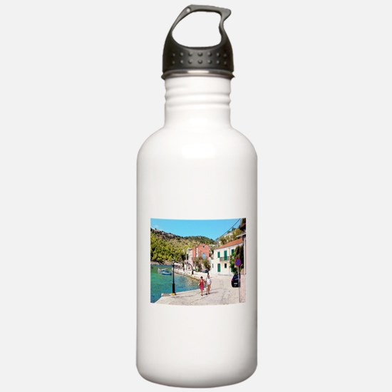 Village of Assos Water Bottle