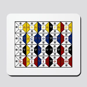 Enochian Tablet of Union Engl Mousepad