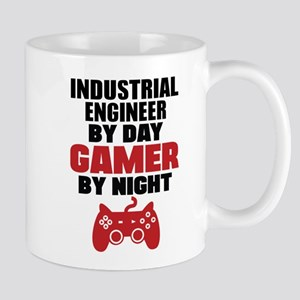 INDUSTRIAL ENGINEER BY DAY GAMER BY NIGHT Mugs