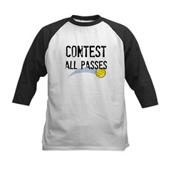Contest All Passes Kids Baseball Jersey