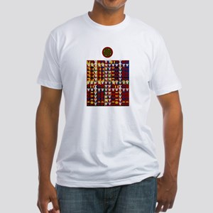 Enochian Fire Watchtower of t Fitted T-Shirt