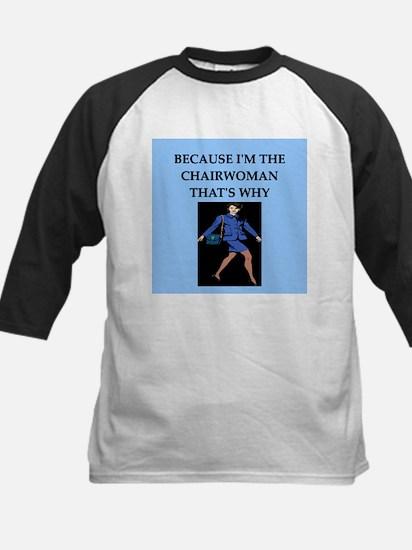 chairwoman gifts t-shirts Kids Baseball Jersey