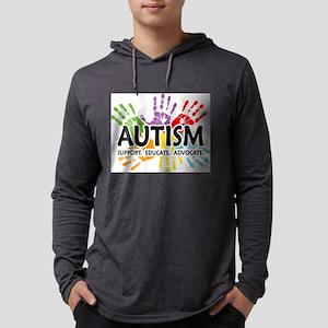 Autism:Handprint Long Sleeve T-Shirt