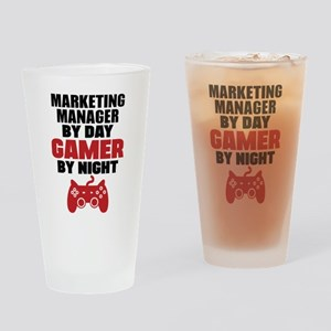 MARKETING MANAGER BY DAY GAMER BY NIGHT Drinking G