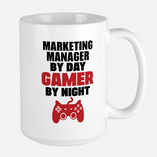 MARKETING MANAGER BY DAY GAMER BY NIGHT Mugs