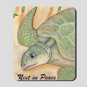 Turtles, Holiday Peace Mousepad