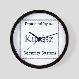 Kuvasz Security Wall Clock