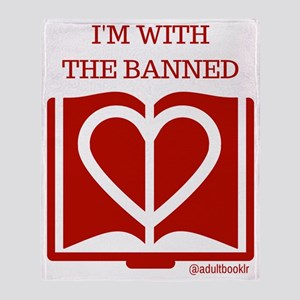 Love Banned Books Throw Blanket
