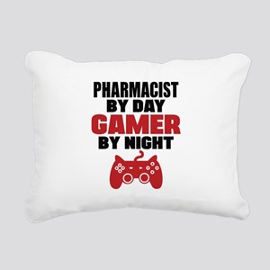 PHARMACIST BY DAY GAMER BY NIGHT Rectangular Canva