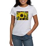 Bee Dance On A Sunflower Day Women's T-Shirt