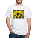 Bee Dance On A Sunflower Day Men's T-Shirt