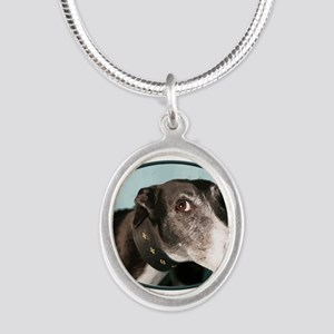Guilty Greyhound in Oval Necklaces
