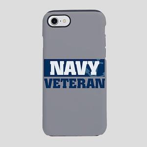 US Navy Veteran fb iPhone 8/7 Tough Case