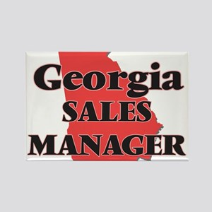 Georgia Sales Manager Magnets