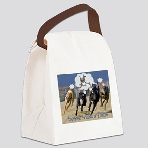 Everyone Needs a Dream Canvas Lunch Bag
