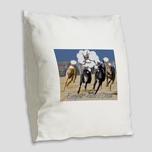 Everyone Needs a Dream Burlap Throw Pillow