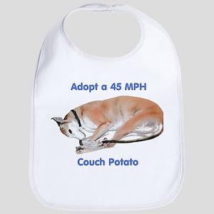 45 MPH Couch Potato Bib