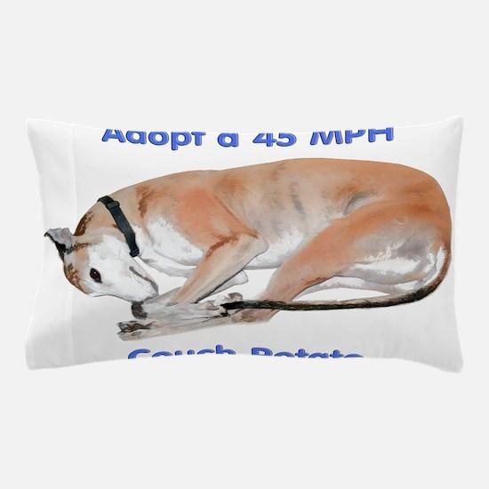 45 MPH Couch Potato Pillow Case