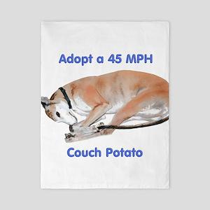 45 MPH Couch Potato Twin Duvet