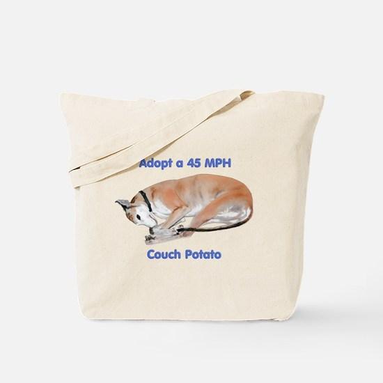 45 MPH Couch Potato Tote Bag