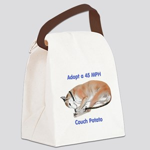 45 MPH Couch Potato Canvas Lunch Bag