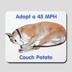 45 MPH Couch Potato Mousepad