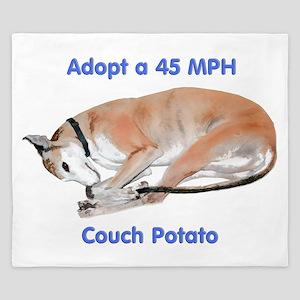 45 MPH Couch Potato King Duvet
