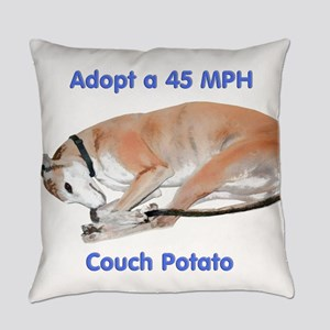 45 MPH Couch Potato Everyday Pillow