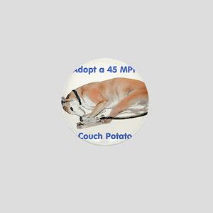 45 MPH Couch Potato Mini Button
