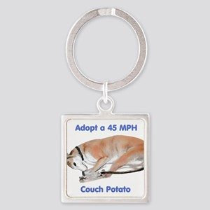 45 MPH Couch Potato Keychains