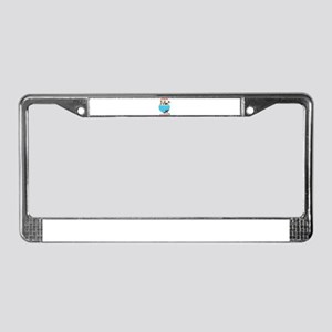 Greyhounds Like Potato Chips License Plate Frame