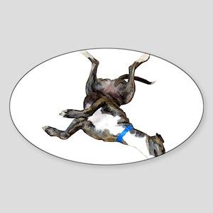 Cockroaching Greyhound Sticker