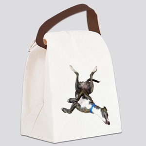 Cockroaching Greyhound Canvas Lunch Bag