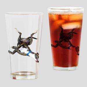 Cockroaching Greyhound Drinking Glass