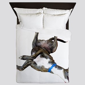 Cockroaching Greyhound Queen Duvet