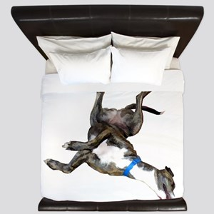 Cockroaching Greyhound King Duvet