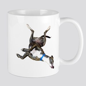 Cockroaching Greyhound Mugs