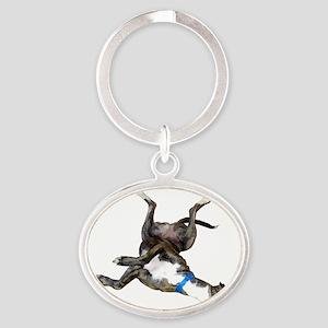 Cockroaching Greyhound Keychains