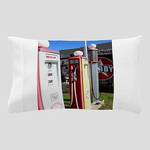 Route 66 gas pumps. Pillow Case