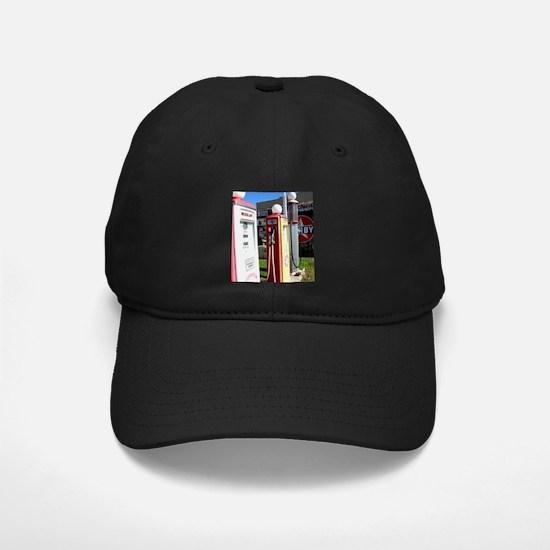 Route 66 gas pumps. Baseball Hat