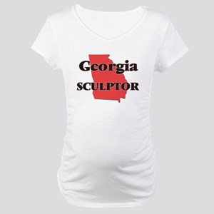 Georgia Sculptor Maternity T-Shirt
