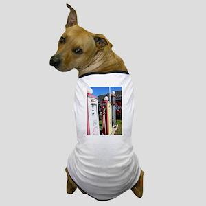 Route 66 gas pumps. Dog T-Shirt