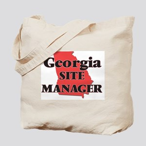 Georgia Site Manager Tote Bag