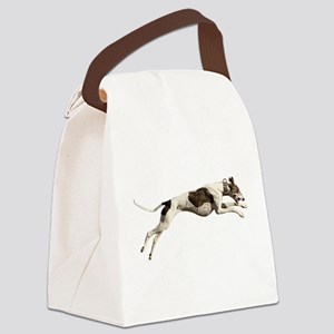 Run Like the Wind Canvas Lunch Bag