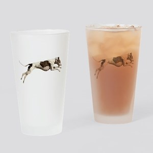 Run Like the Wind Drinking Glass