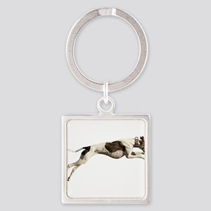 Run Like the Wind Keychains